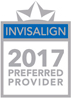 Invisilign 2017 Preferred Provider Badge